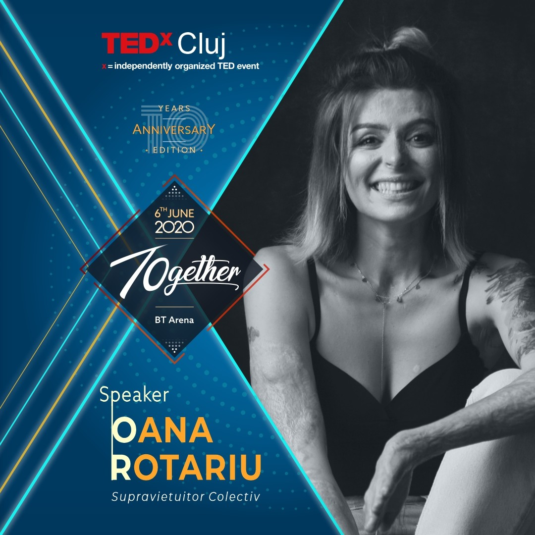 Speakeri TEDxCluj 2020 Oana Rotariu