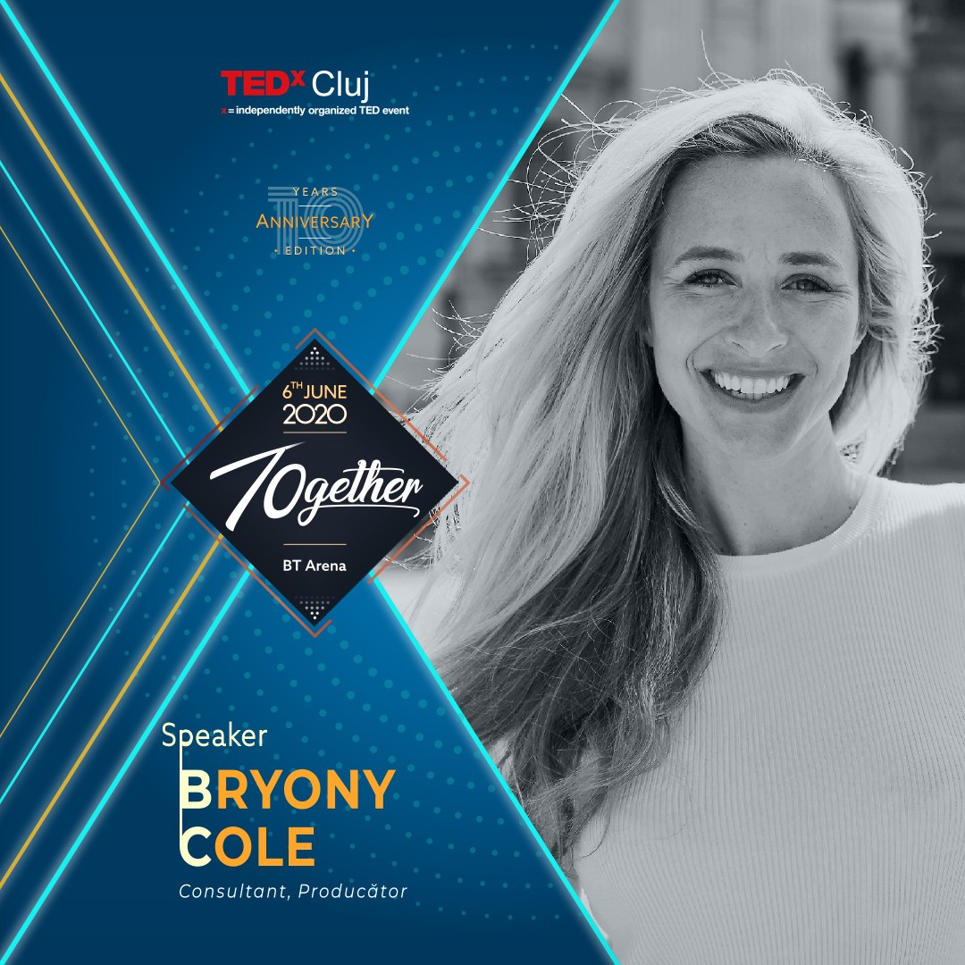 Bryony Cole Speaker TEDxCluj