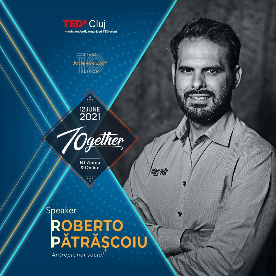 Roberto Patrascoiu Speaker TEDxCluj 2021