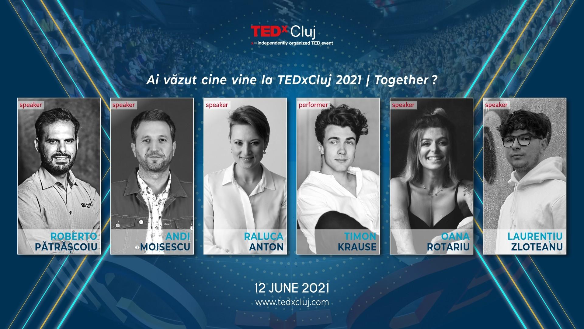 Speakeri TEDxCluj 2021
