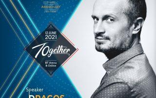 Dragos Stanca Speaker TEDxCluj 2021