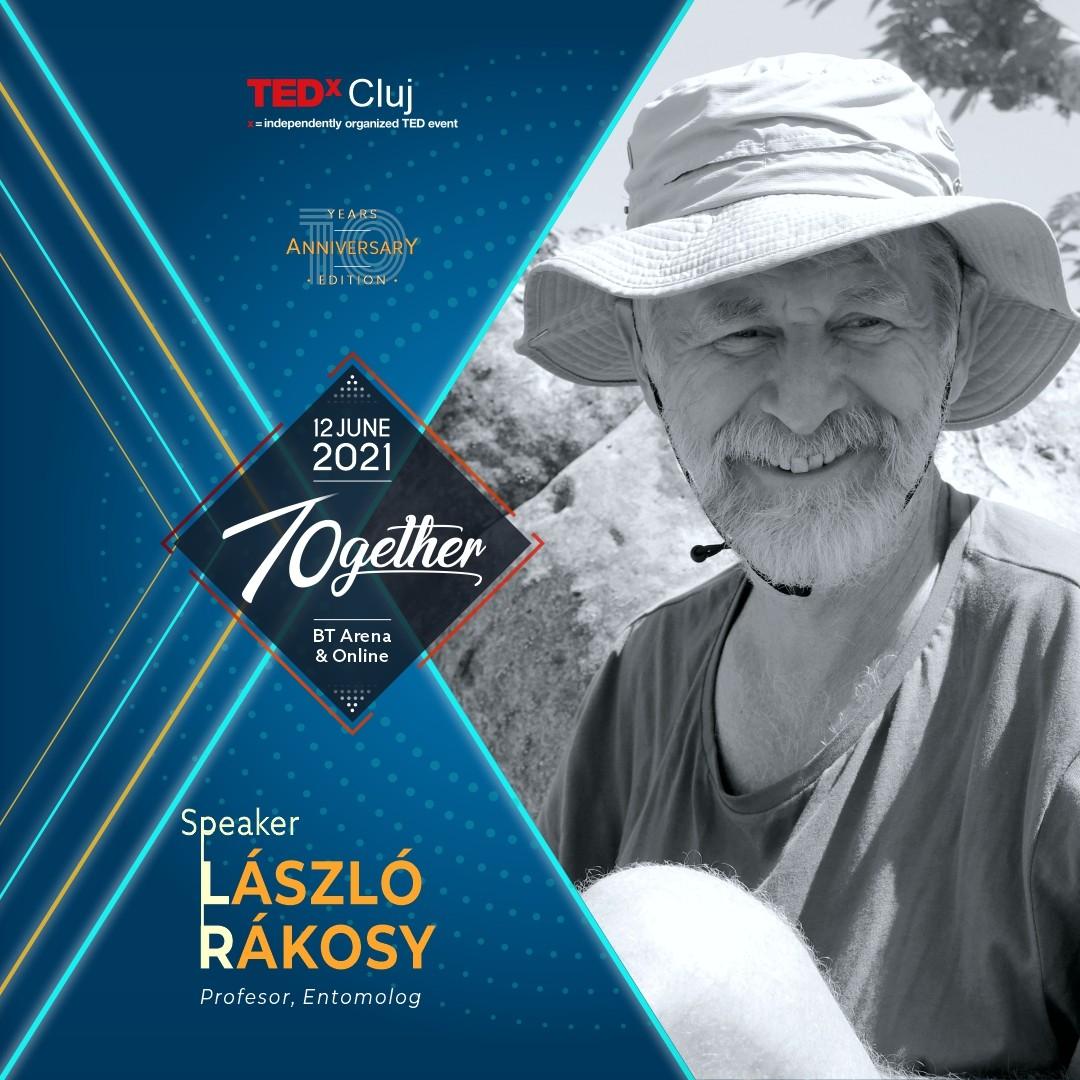 Laszlo Rakosy Speaker TEDxCluj 2021