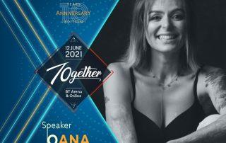 Oana Rotariu Speaker TEDxCluj 2021