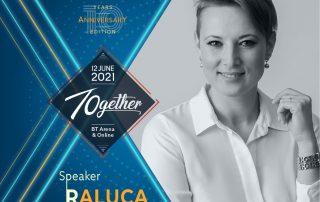 Raluca Anton Speaker TEDxCluj 2021