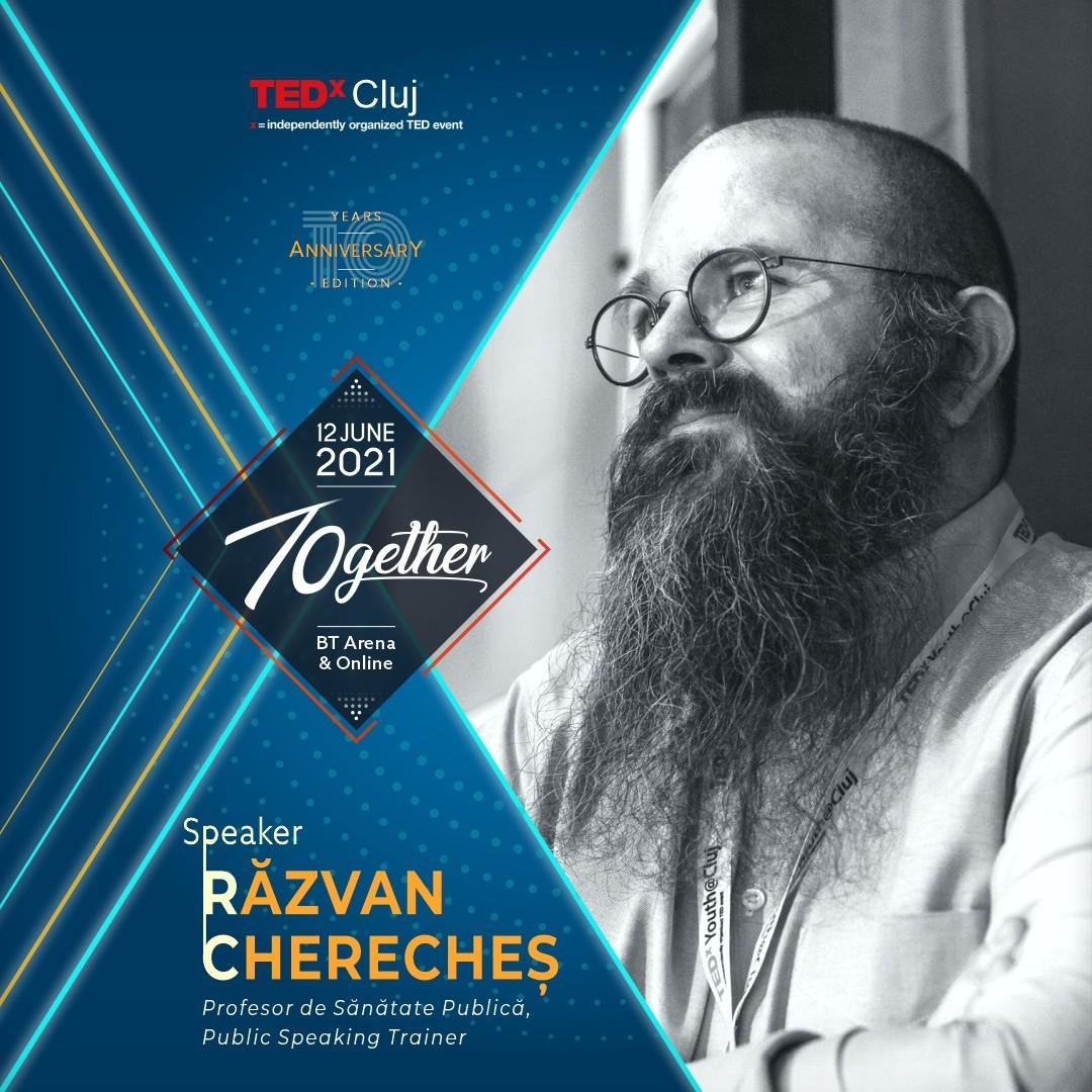 Razvan Chereches Speaker TEDxCluj 2021