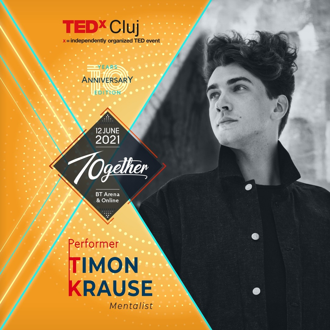 Timon Krause Performer TEDxCluj 2021