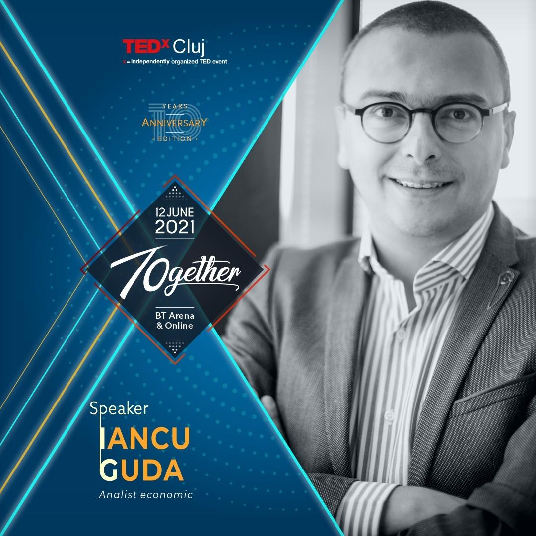 Iancu Guda Speaker TEDXCluj 2021