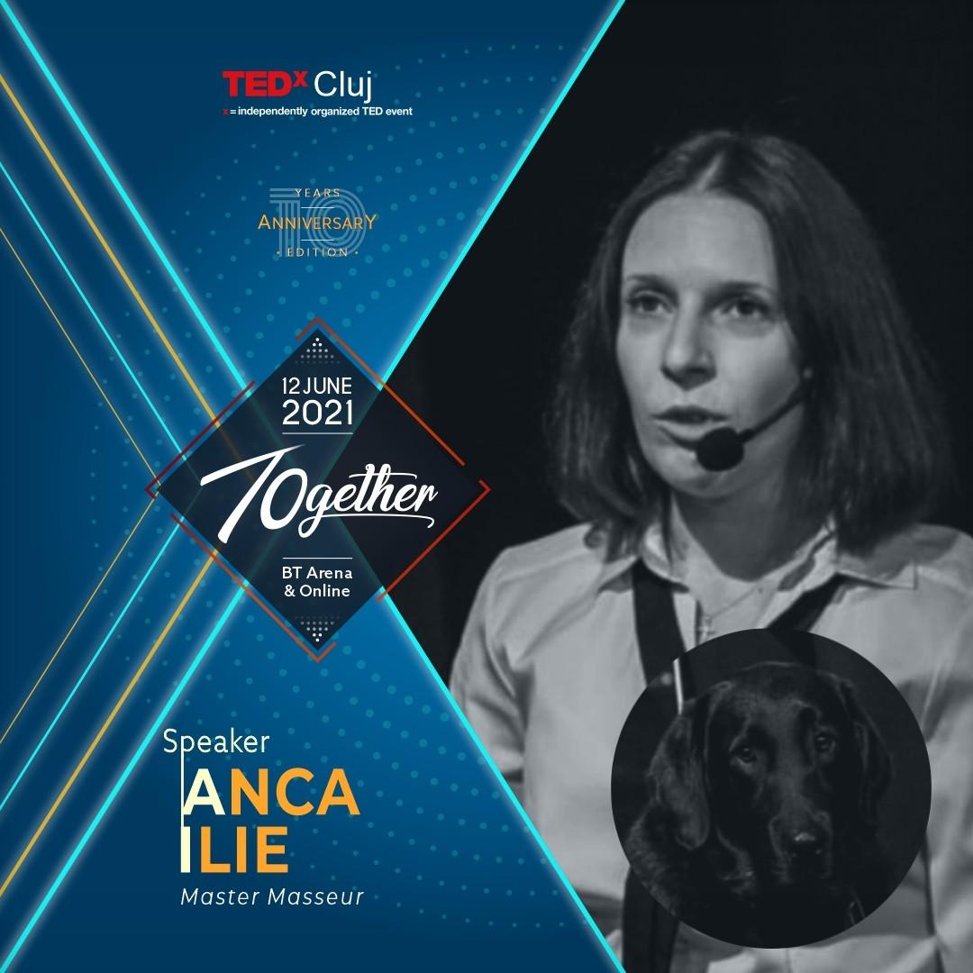 Anca Ilie speaker TEDxCluj