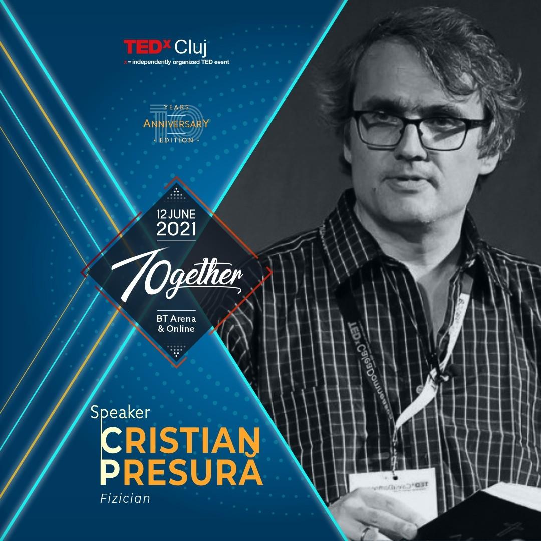 Cristian Presura Speaker TEDxCluj